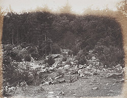 Slaughter Pen, foot of Round Top, Gettysburg